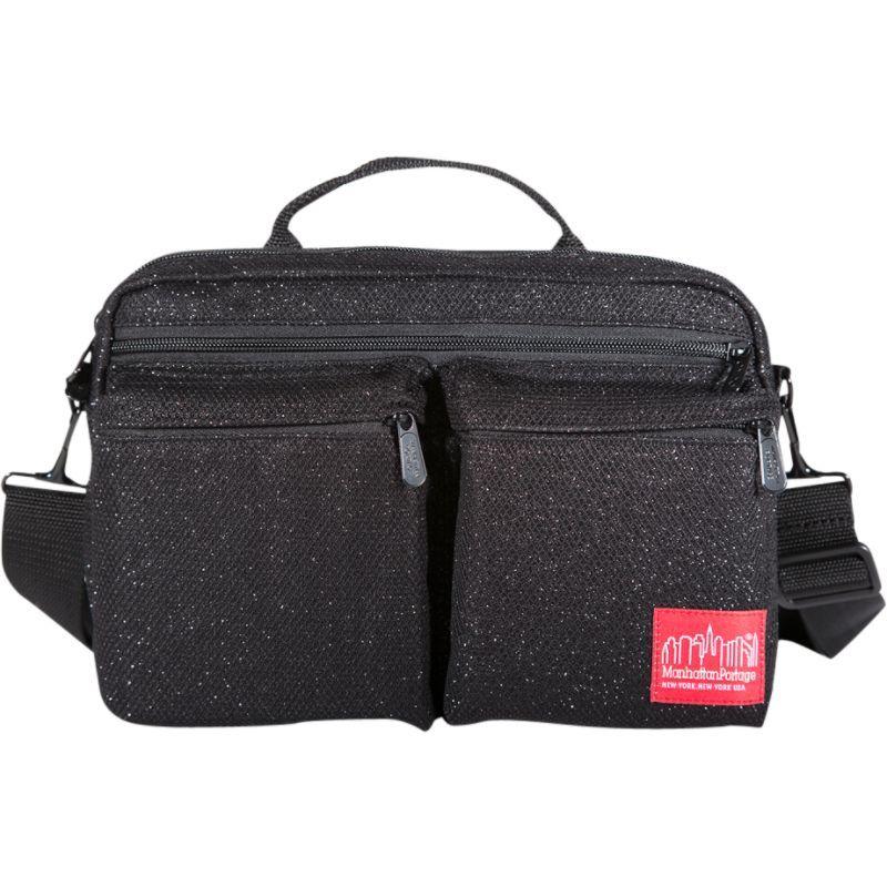 マンハッタンポーテージ メンズ ショルダーバッグ バッグ Midnight Albany Shoulder Bag Black