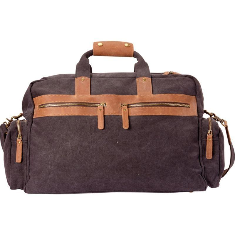 ヴァガボンドトラベラー メンズ スーツケース バッグ Classic Medium Canvas Duffle Bag Grey