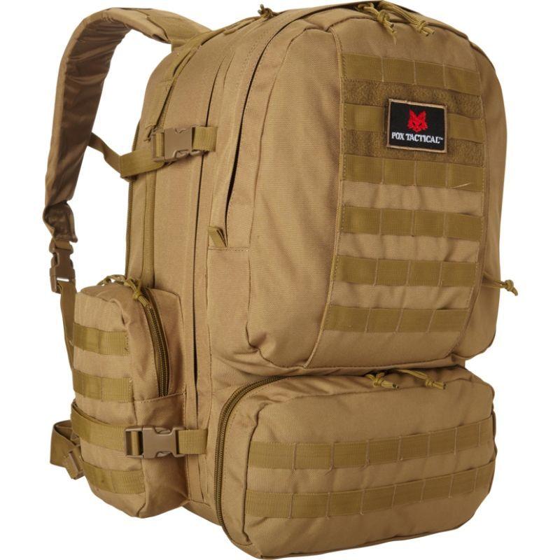 フォックスアウトドア メンズ ボストンバッグ バッグ Advanced 3-Day Pack Coyote