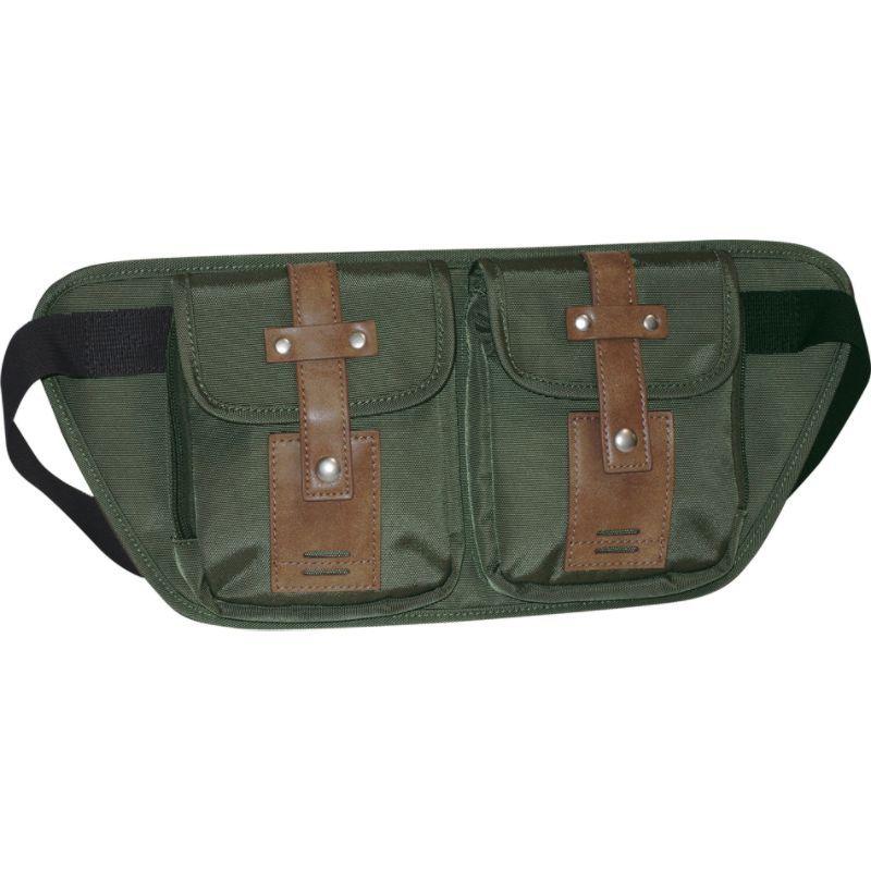 バクストン メンズ ボディバッグ・ウエストポーチ バッグ Expedition II Trekker Belt Bag Olive