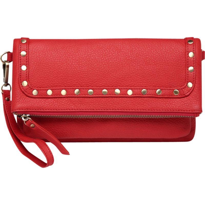 ビンセンゾレザー メンズ ボディバッグ・ウエストポーチ バッグ Francesca Leather Convertible Crossbody Red