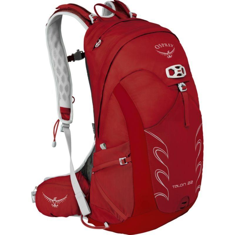 オスプレー メンズ バックパック・リュックサック バッグ Talon 22 Hiking Pack Martian Red S/M