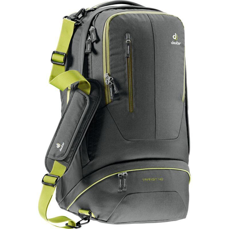ドイター メンズ バックパック・リュックサック バッグ Transit 40 Backpack Anthracite/Moss