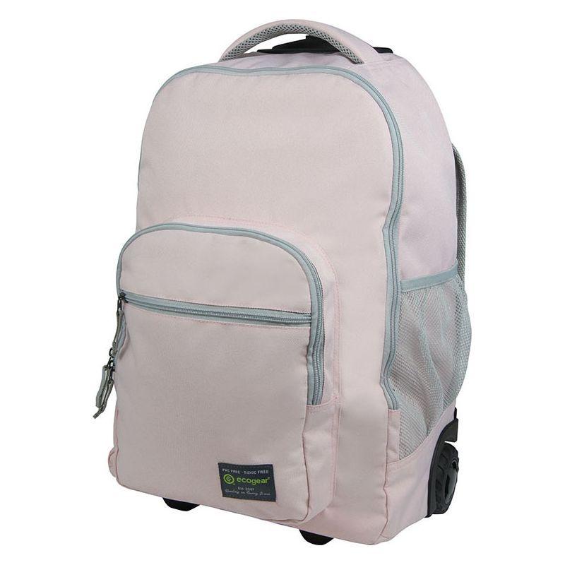エコギアー メンズ バックパック・リュックサック バッグ Dhole Laptop Rolling Backpack Blush Pink