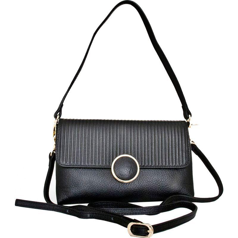 レザーベイ メンズ ショルダーバッグ バッグ Zevio Shoulder Bag Black