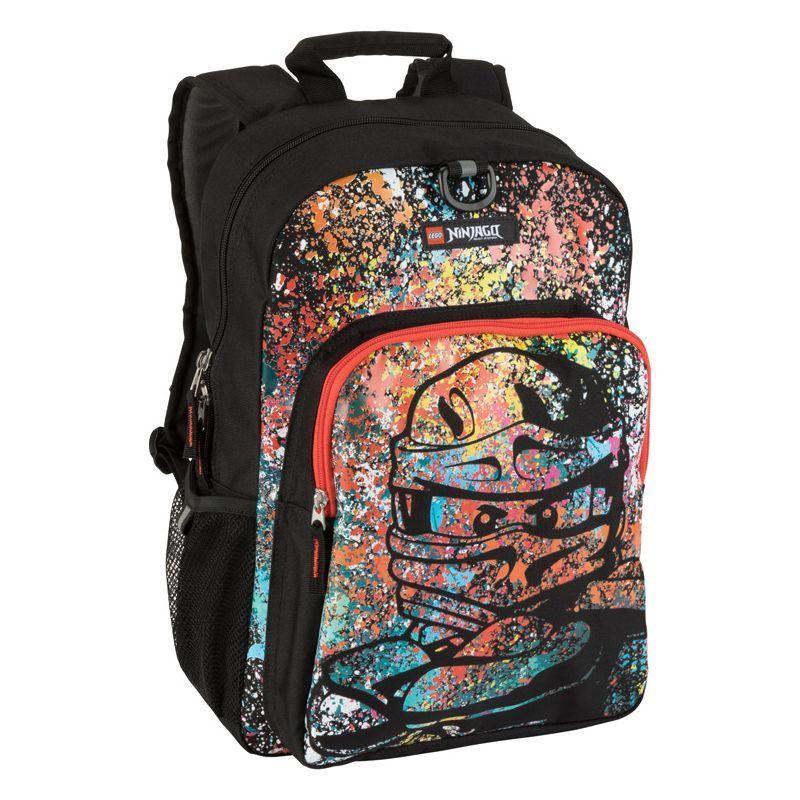 レゴ メンズ バックパック・リュックサック バッグ NINJAGO Spraypaint Heritage Classic Backpack Black