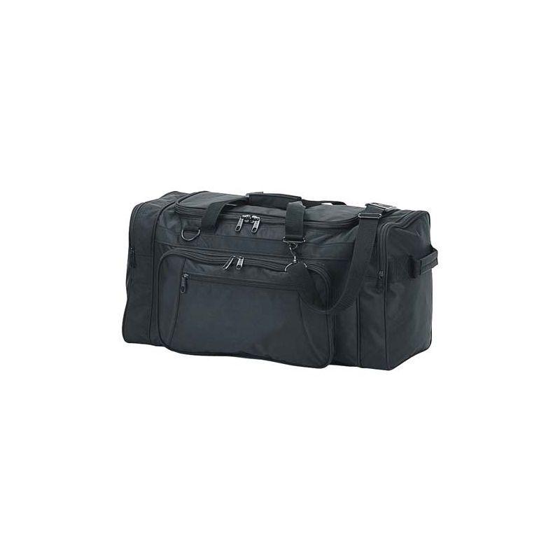 ネットパック メンズ スーツケース バッグ 24 Ballistic Nylon Cargo Duffel Black