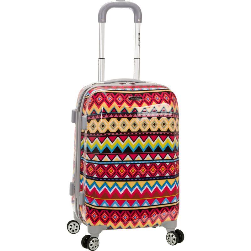 ロックランド メンズ スーツケース バッグ 20 Vision Polycarbonate Carry-On Tribal