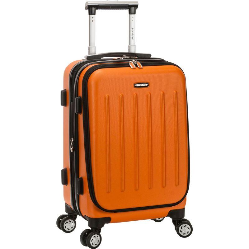 ロックランド メンズ スーツケース バッグ Titan 19 ABS Spinner Carry On Orange