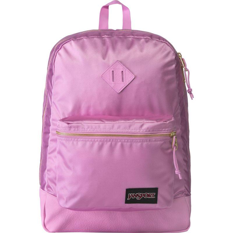 ジャンスポーツ メンズ バックパック・リュックサック バッグ Super FX Series Backpack- Sale Colors Lavender Orchid Gold Premium Poly