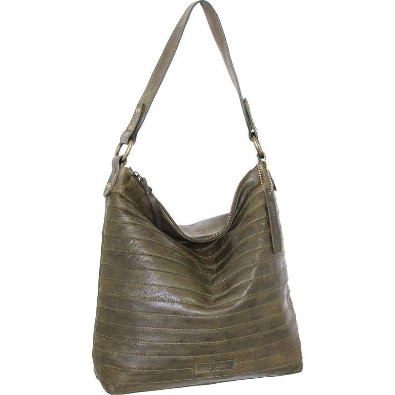 ニノボッシ メンズ ハンドバッグ バッグ Bristol Shoulder Bag Green