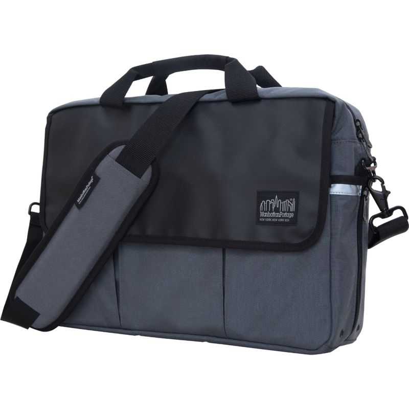 マンハッタンポーテージ メンズ スーツケース バッグ Webb Convertible Briefcase Gray