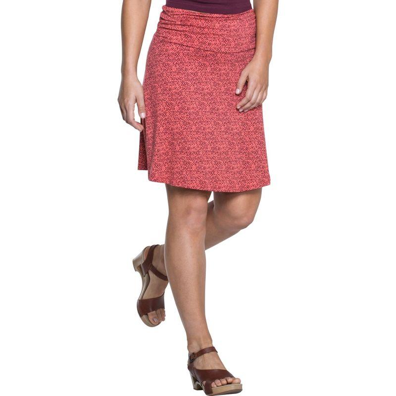 トードアンドコー レディース スカート ボトムス Chaka Skirt L - Spiced Coral Geo Print