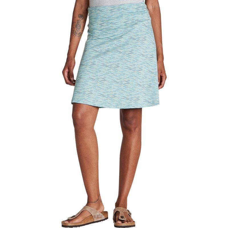 トードアンドコー レディース スカート ボトムス Chaka Skirt XS - Aquifer Wave Print