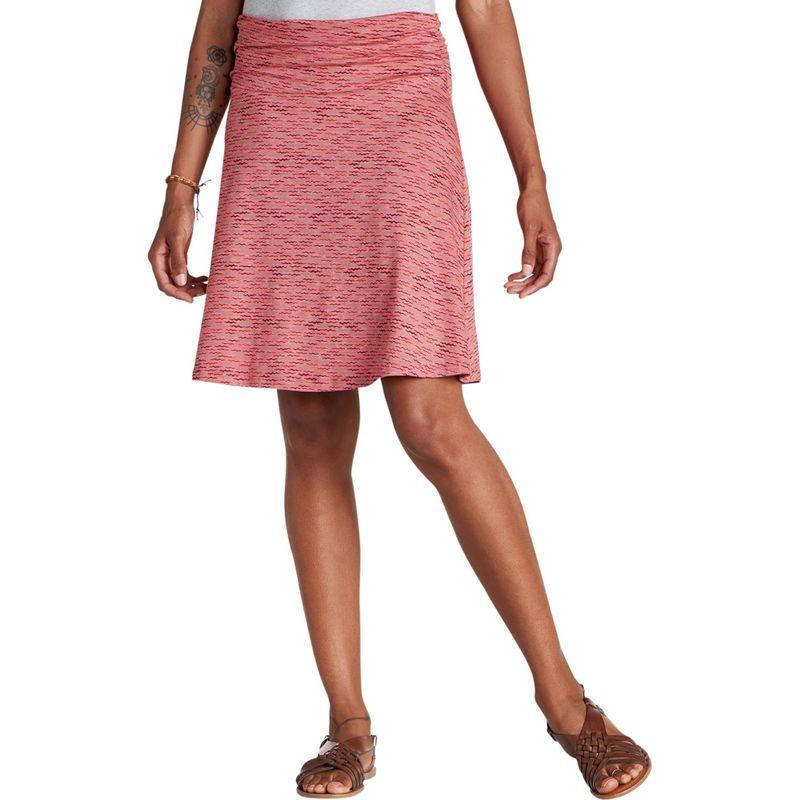 トードアンドコー レディース スカート ボトムス Chaka Skirt XS - Guava Wave Print