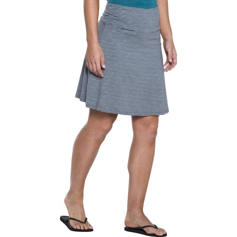 トードアンドコー レディース スカート ボトムス Chaka Skirt XS - Smoke Lean Stripe