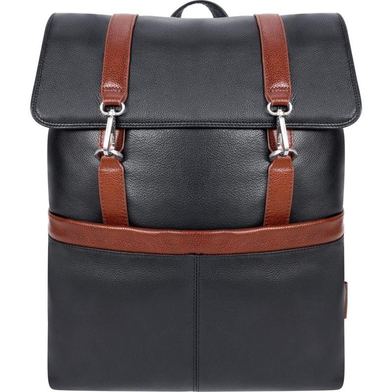 マックレイン メンズ スーツケース バッグ Element Laptop Backpack Black-U