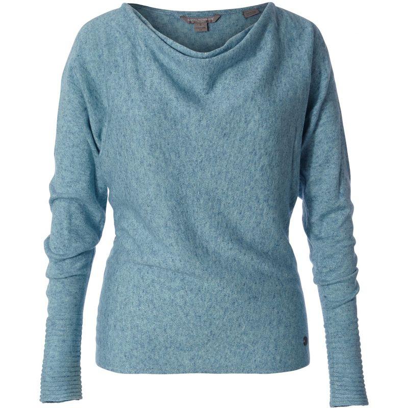 ロイヤルロビンズ レディース ニット・セーター アウター Womens Highlands Cowl S - Frost Blue Htr