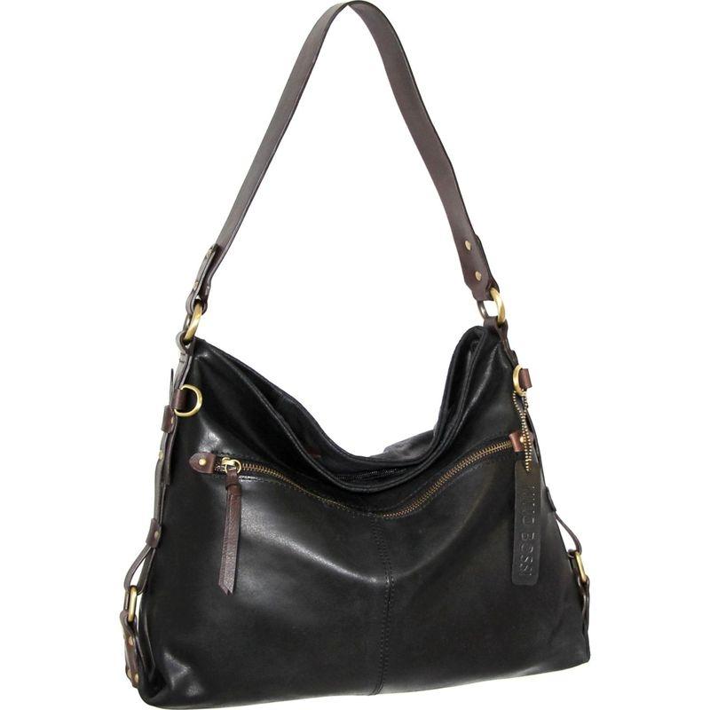 ニノボッシ メンズ ショルダーバッグ バッグ Aislin Shoulder Bag Black