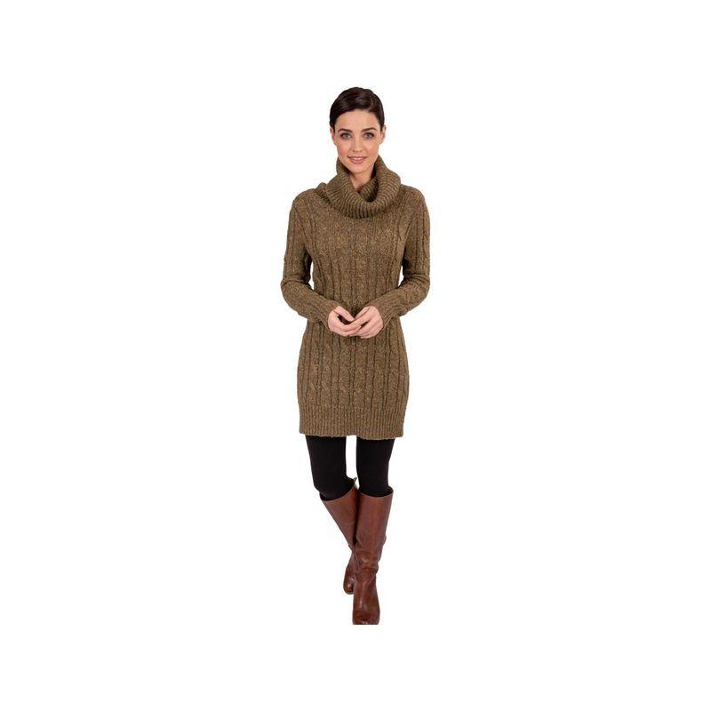 ソイブ レディース ニット・セーター アウター City Sweater Tunic M - Olive Night