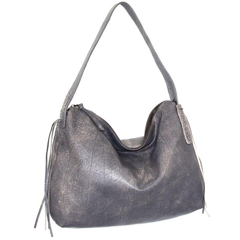 ニノボッシ 驚きの値段 メンズ ハンドバッグ 当店は最高な サービスを提供します バッグ Grey Hobo Verena
