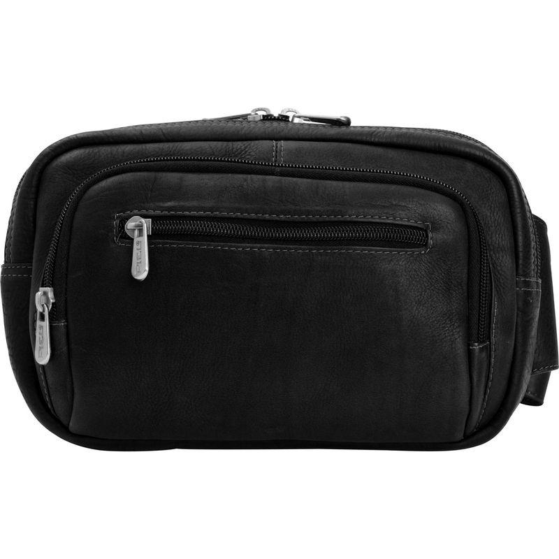 ピエール メンズ ボディバッグ・ウエストポーチ バッグ Large Travel Waistpack Black