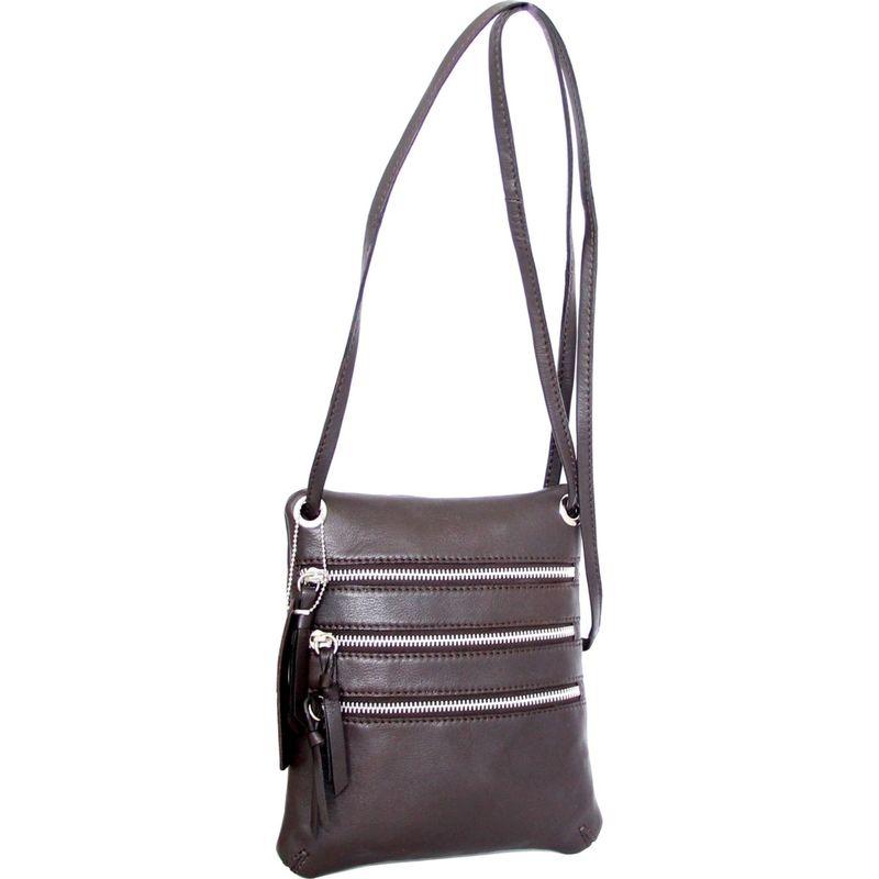 ニノボッシ メンズ ボディバッグ・ウエストポーチ バッグ Carolina Crossbody Bag Chocolate