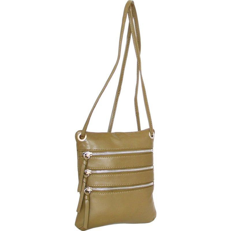 ニノボッシ メンズ ボディバッグ・ウエストポーチ バッグ Carolina Crossbody Bag Loden