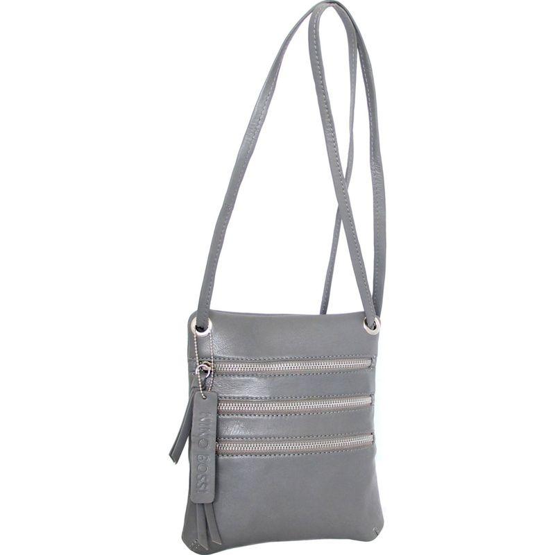 ニノボッシ メンズ ボディバッグ・ウエストポーチ バッグ Carolina Crossbody Bag Stone