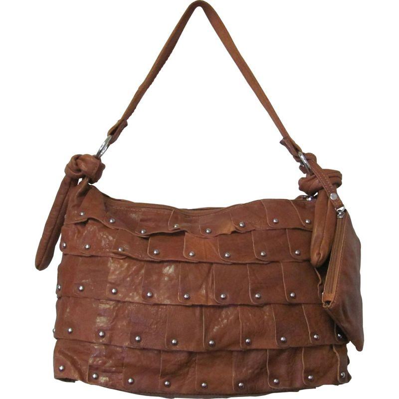 アメリ メンズ ショルダーバッグ バッグ Miao Leather Handbag Brown