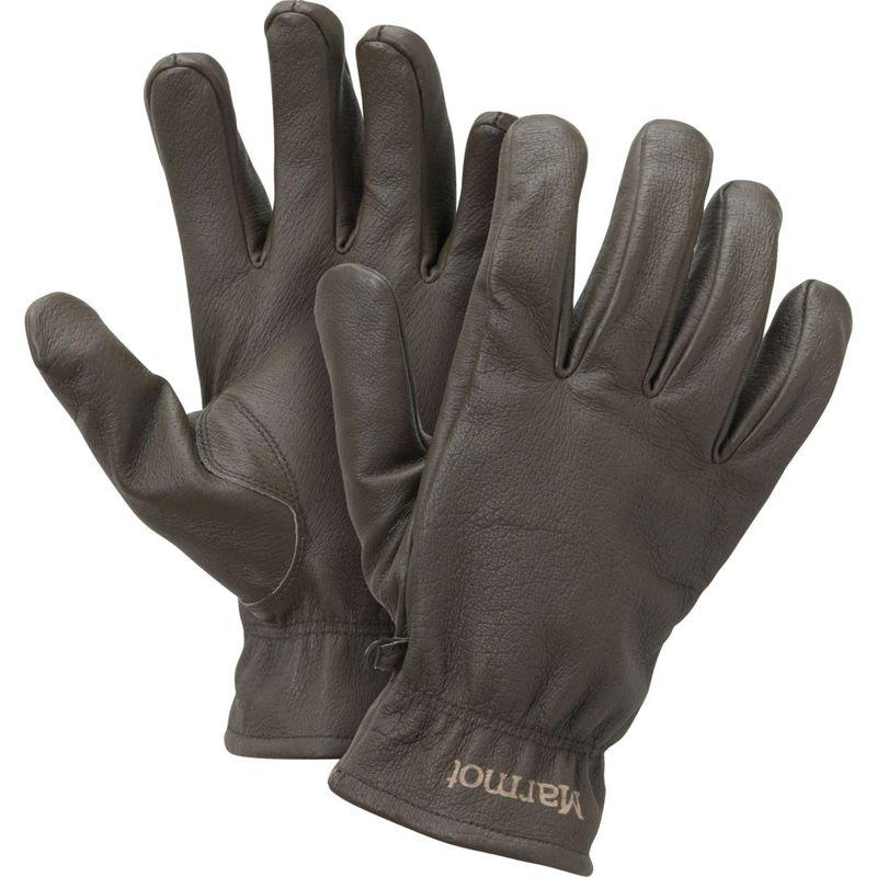 マーモット メンズ 手袋 アクセサリー Basic Work Glove S - Dark Brown