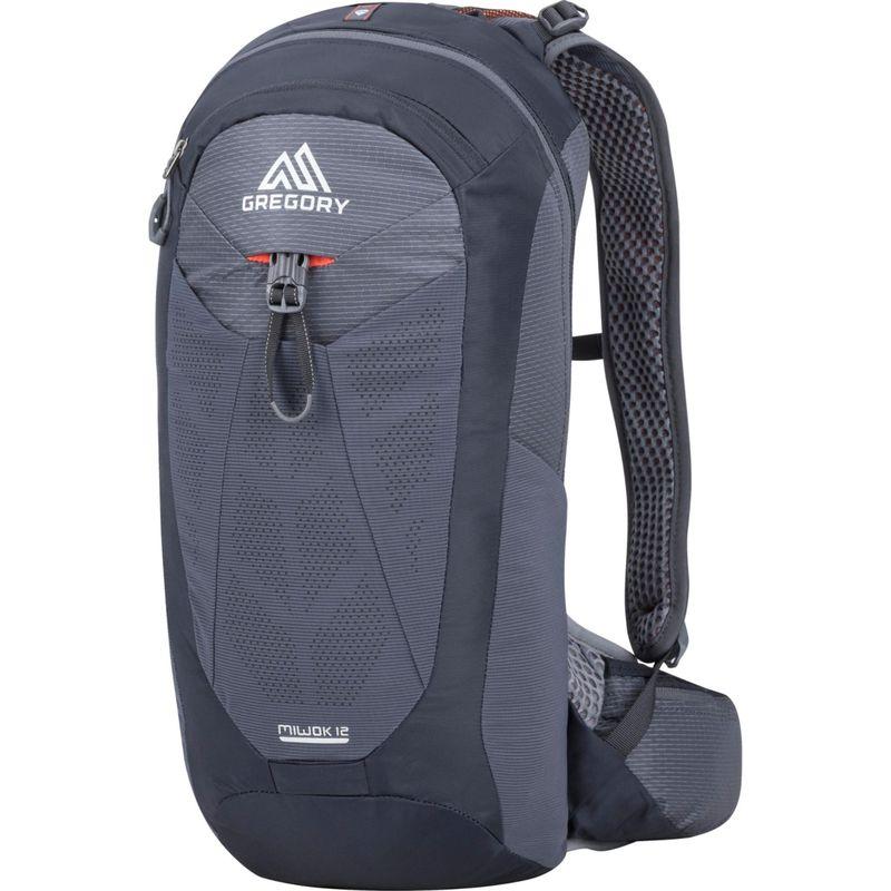 グレゴリー メンズ バックパック・リュックサック バッグ Miwok 12 Hiking Backpack Flame Black