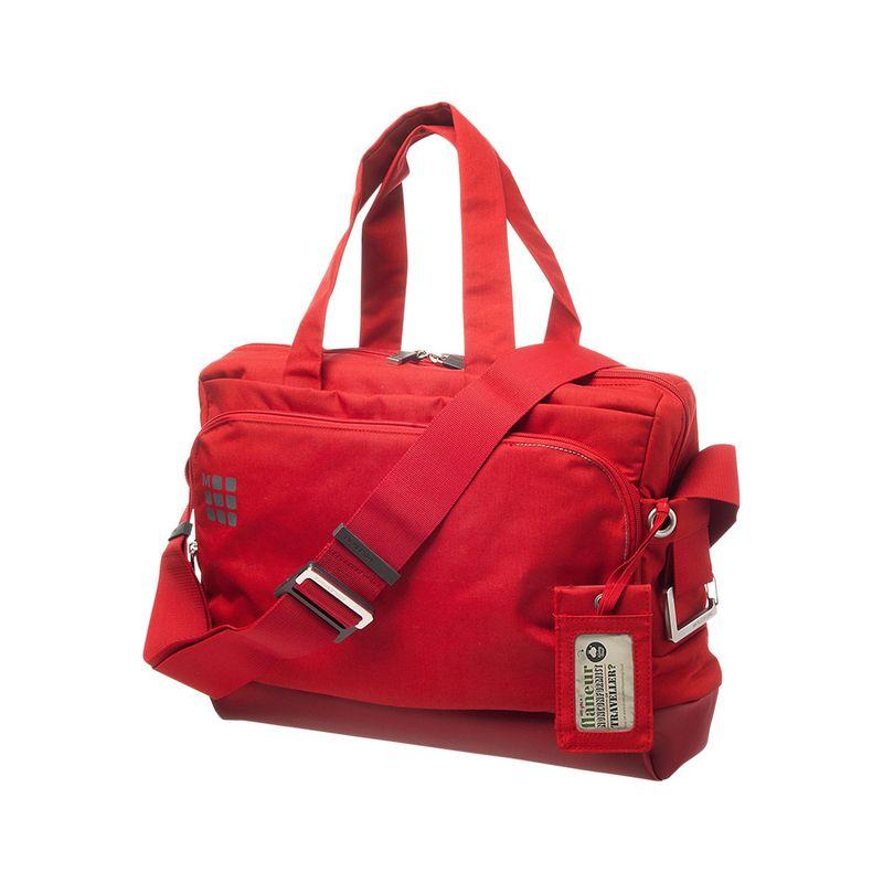 モレスキン メンズ スーツケース バッグ MyCloud Briefcase Scarlet Red