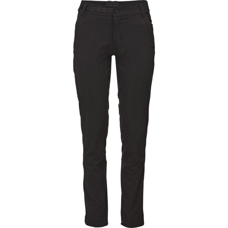 ブラックダイヤモンド レディース カジュアルパンツ ボトムス Womens Alpine Light Pants S - Black