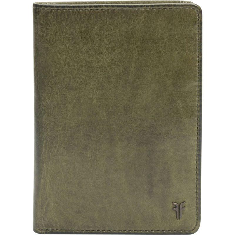 フライ メンズ 財布 アクセサリー Austin Passport Wallet- Antique Pull Up Pine