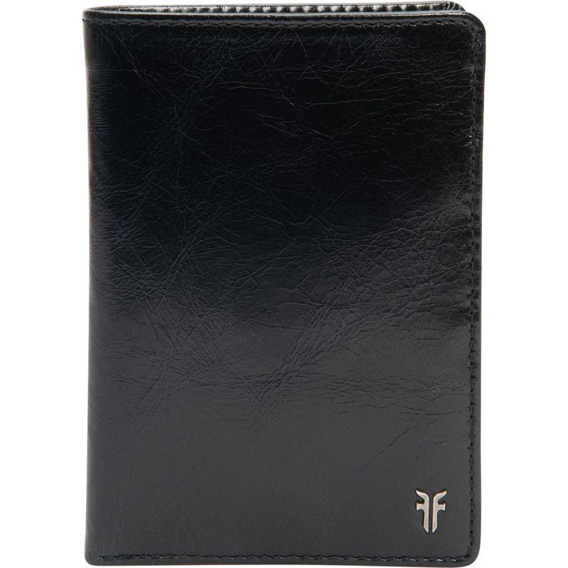 フライ メンズ 財布 アクセサリー Austin Passport Wallet-Glazed Black