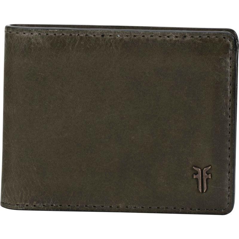 フライ メンズ 財布 アクセサリー Austin Slim ID Bifold Wallet- Antique Pull Up Pine