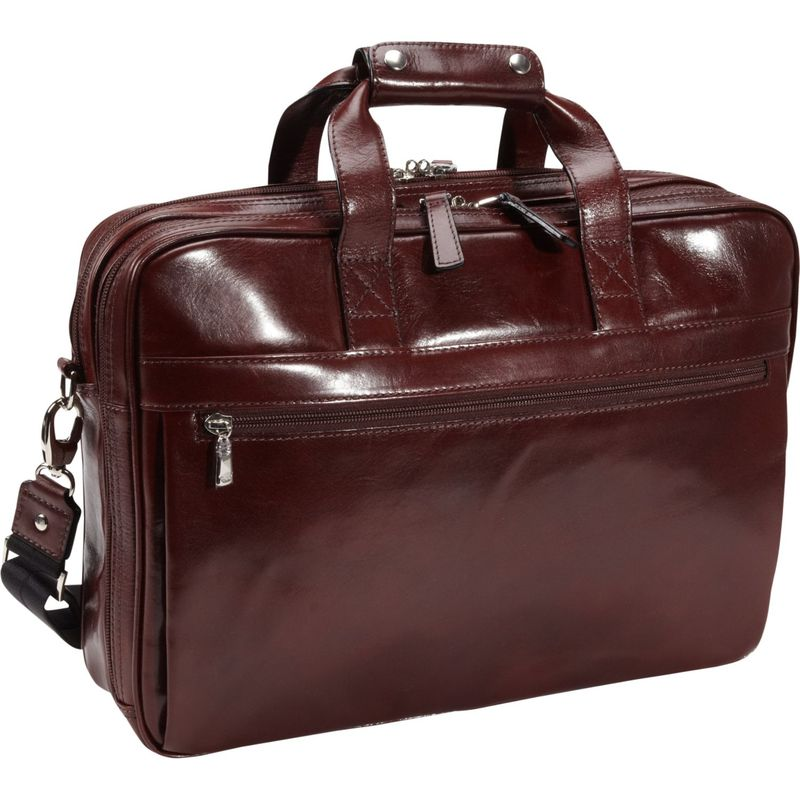 ボスカ メンズ スーツケース バッグ Old Leather Stringer Bag Dark Brown