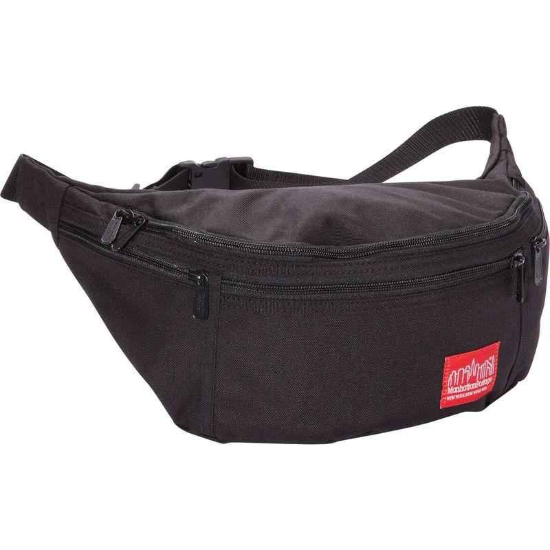マンハッタンポーテージ メンズ ボディバッグ・ウエストポーチ バッグ Alleycat Waist Bag (LG) Black