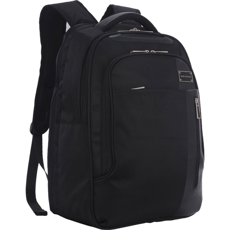 エコスタイル メンズ スーツケース バッグ Tech Exec Backpack-Checkpoint Friendly Black/Gray