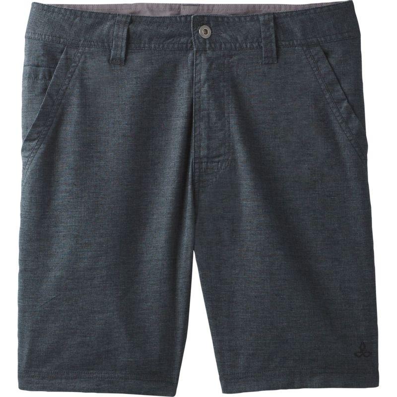 プラーナ メンズ ハーフパンツ・ショーツ ボトムス Furrow Shorts - 8 Inseam 28 - 8in - Black
