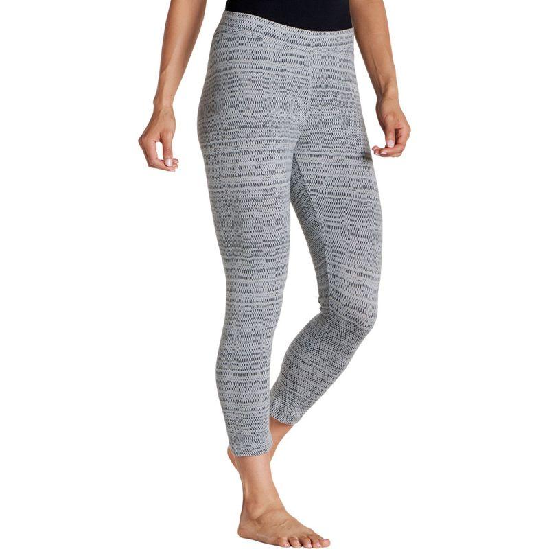 トードアンドコー レディース カジュアルパンツ ボトムス Print Lean Capri Legging XS - Light Ash Rain Drop Print