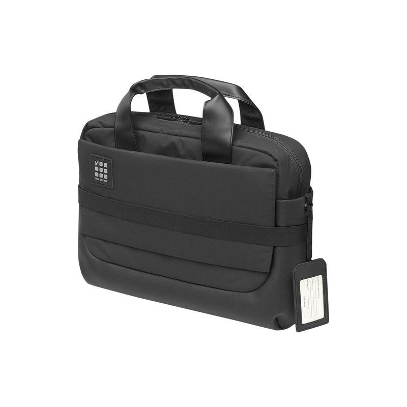 モレスキン メンズ スーツケース バッグ ID Briefcase BlackhsdxtQrC