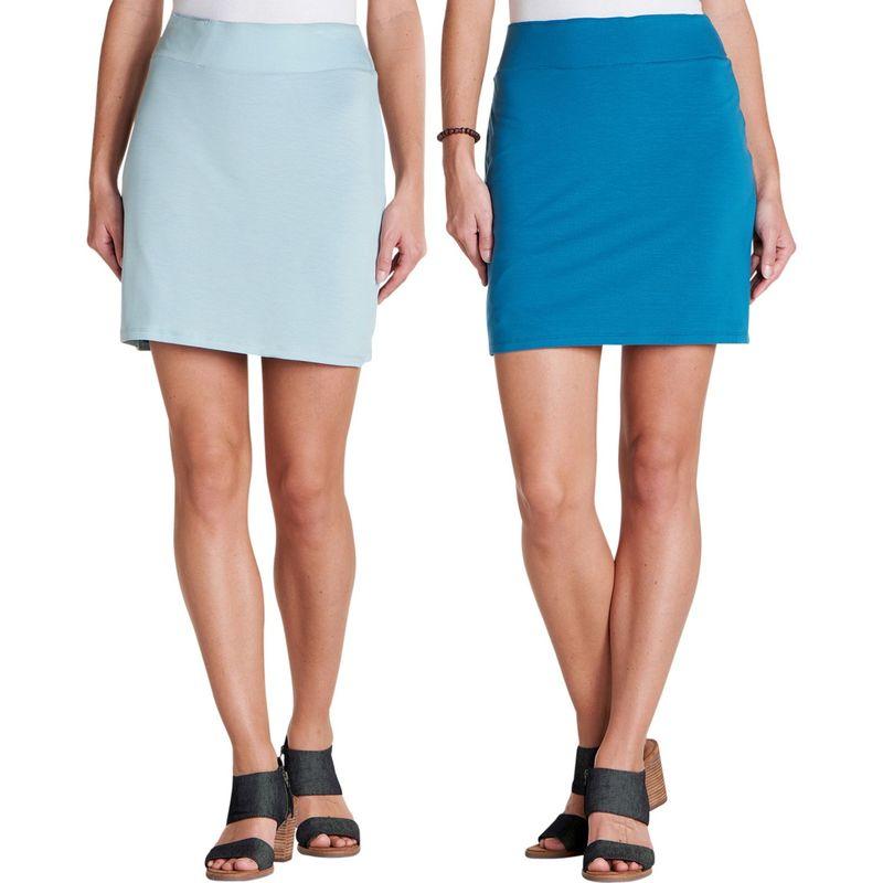 トードアンドコー レディース スカート ボトムス Womens Mirror Reversible Skirt S - Aquifer