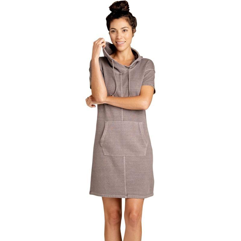 トードアンドコー レディース ワンピース トップス Womens Epique Short Sleeve Dress XS - Raisin