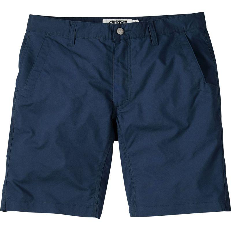 マウンテンカーキス メンズ ハーフパンツ・ショーツ ボトムス Stretch Poplin Short 30 - 8in - Navy