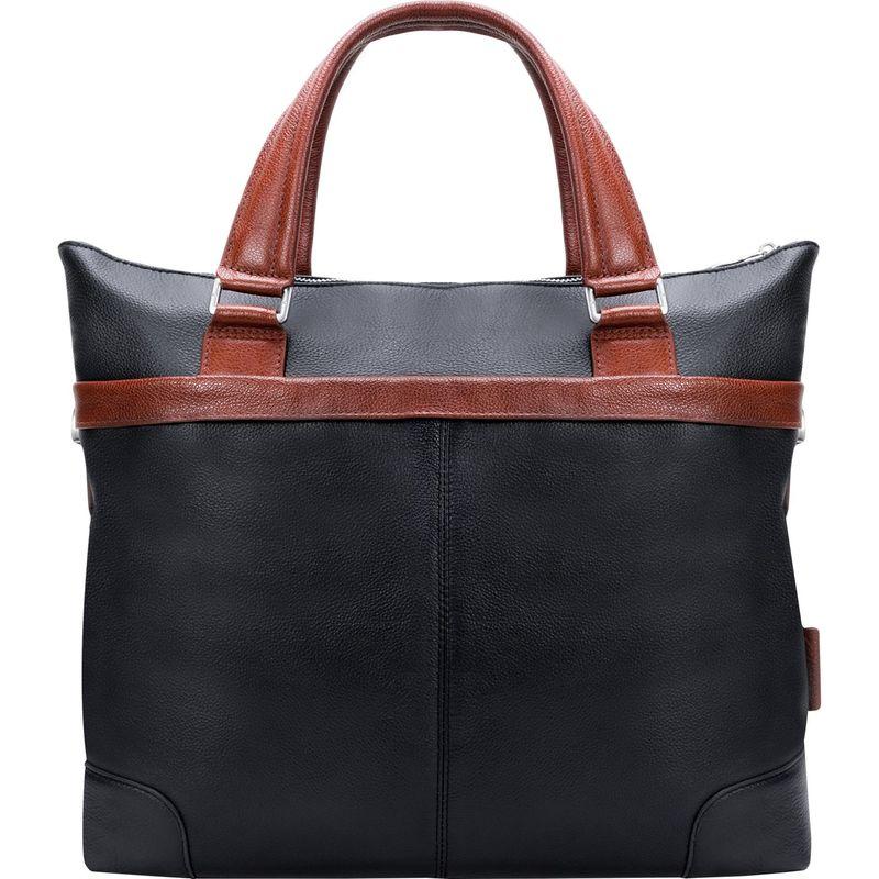 マックレイン メンズ スーツケース バッグ Eastward Laptop Business Tote Black/Red