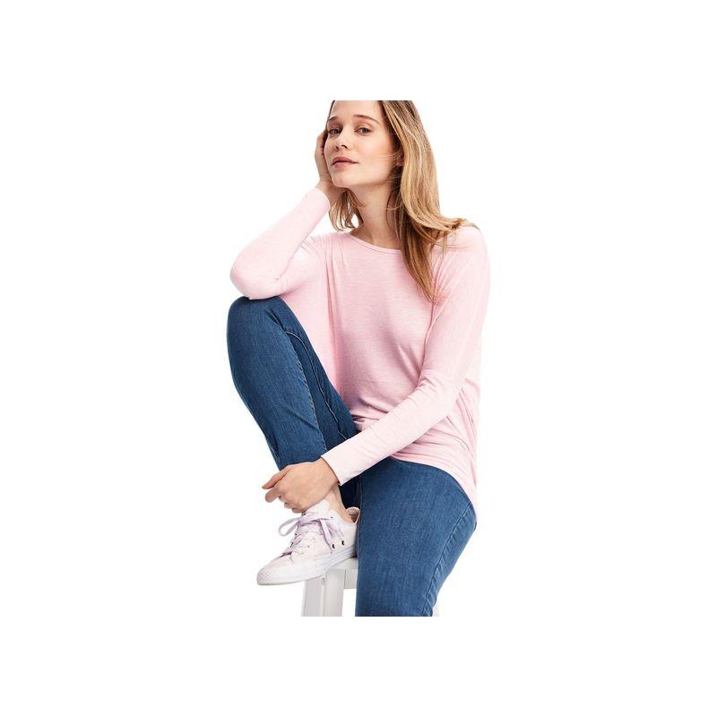 ロル レディース シャツ トップス Elisia Long Sleeve XS - Pink Salt Heather