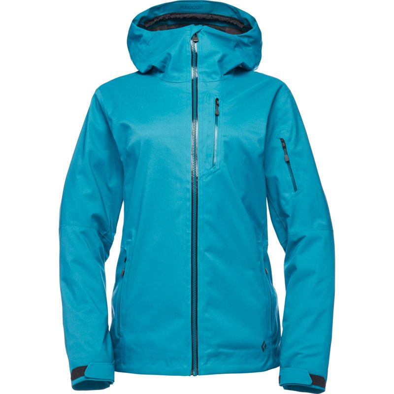 ブラックダイヤモンド レディース ジャケット・ブルゾン アウター Womens Boundary Line Mapp Insulated Jacket L - Aqua Verde