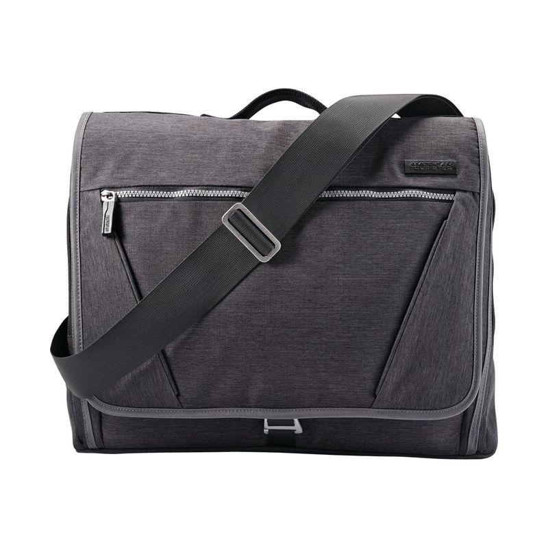 アメリカンツーリスター メンズ ショルダーバッグ バッグ Laptop Messenger Bag Charcoal